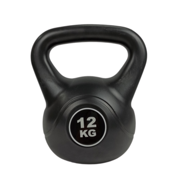 1x 12KG Kettlebell Kettle Bell Weight Exercise Energetics Home Gym Workout