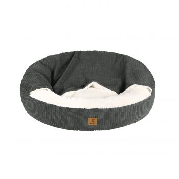 Charlie's Hooded Dog Pad Charcoal Medium
