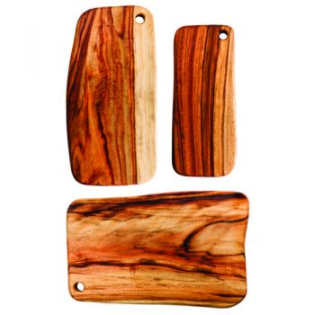 Fab Slabs - Antibacterial Wooden Cutting Boards and Grazing Platters - Model FS-PACK 01