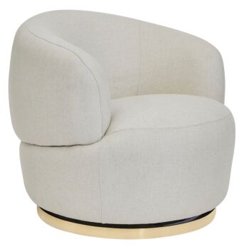 Tubby Swivel Occasional Chair