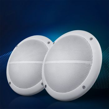 Giantz Set of 2 6.5 Inch 2Way Outdoor Waterproof Marine Speaker 120W Pair Boat Audio