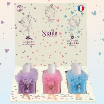 Snails Ballerine washable nail polish kit