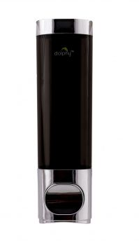 Dolphy Soap Dispenser 300ML - Black & Silver