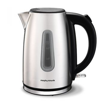 Morphy Richards Equip 1.7L Jug Kettle Brushed S/S - 102777