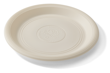 Cornstarch 18cm Side Plate (Natural) - 20pc