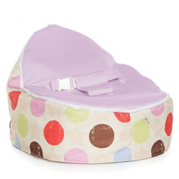 Chibebe Liberty Baby Bean Bag - Grape