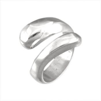 POLISHED CURVE WRAP RING