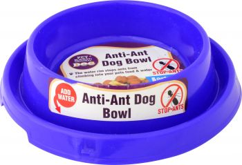 Dog Bowl Anti-Ant 22.5cm x 16.5cm x 5.5cm