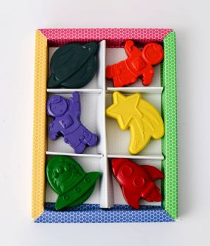 Outer Space crayons
