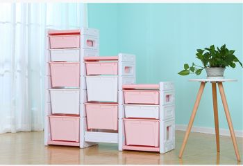 ALL 4 KIDS Hanna Combined Storage Unit - Pink