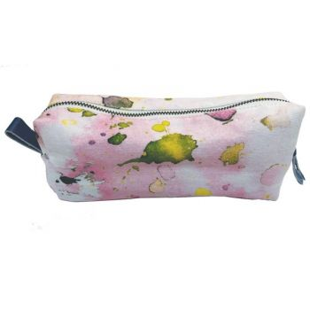 Small Pouch-Pastel Splatter