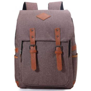 Brown Messenger Rucksack
