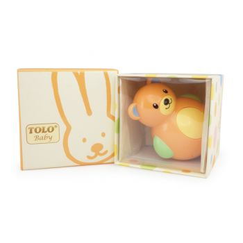 ROLY POLY TEDDY BEAR (PASTEL)