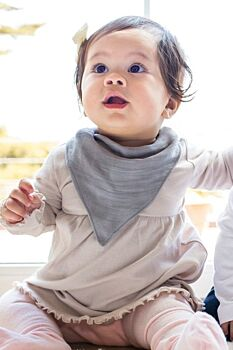 Pebble Oh-So-Soft Muslin Bandana Bib