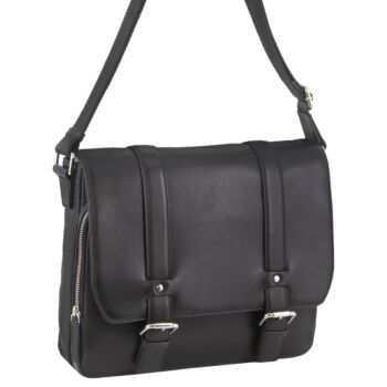 Pierre Cardin Pebbled Leather Computer Bag