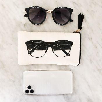 Sunglasses Case With Pocket