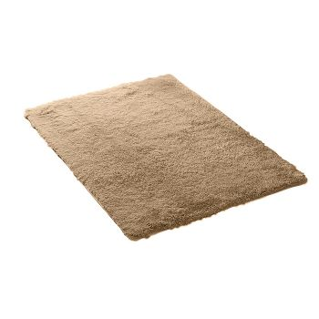 Designer Shaggy and Soft Home Decor Floor Rug 80x120cm in Tan