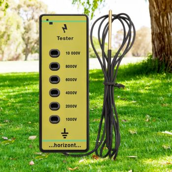 Giantz Fence Voltage Tester Farm Fencing Poly Wire Tape Rope Electric Solar