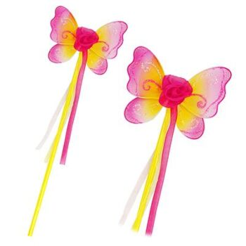 Enchanted Blossom Wand-Yellow - Pack Size 6