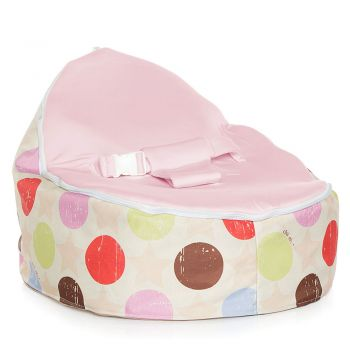 Chibebe Liberty Baby Bean Bag - Pink