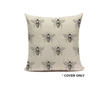 Indoor Cushion COVER - Bee Pattern - 45x45
