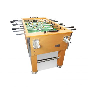 5FT Pub Size Soccer / Foosball Table 4 Drink Holders Walnut