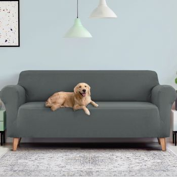 Artiss Sofa Cover Elastic Stretchable Couch Covers Grey 1/2/3/4 Seater