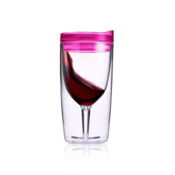 TraVino Wine Sippy Cup - Pink