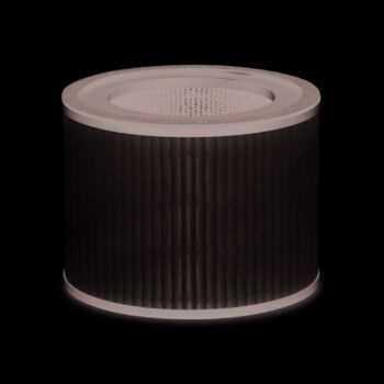 Arovec™ Genuine Replacement Filter Compatible with AV-P500 Smart Plus Air Purifier 3-in-1 Korean H13 True HEPA High-Efficiency Activated Carbon AV-P500-RF