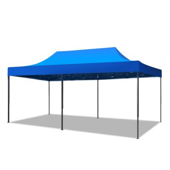 Mountview Pop Up Gazebo Outdoor Canopy 3x6M in Blue Colour