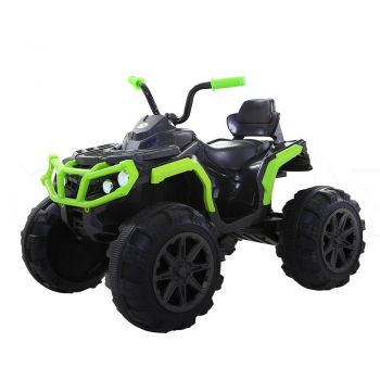 BoPeep 12V Electric Kids Child Ride-On Car Truck Jeep Toy Gift Off Road in Green