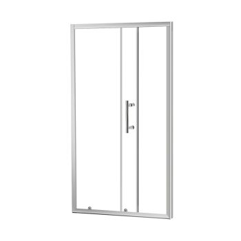 Levede Bathroom Glass Shower Enclosure Screen with Seal Strip 1400 x 1900mm