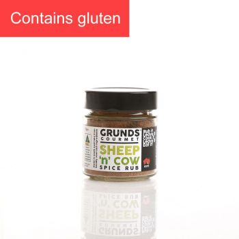 Grunds Gourmet Sheep 'n' Cow Spice Rub