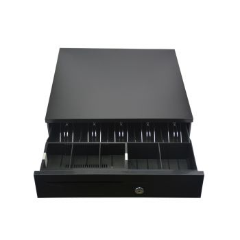 Manual/Electronic Heavy Duty Cash Drawer Register with POS 5 Bills and 5Coins Tray