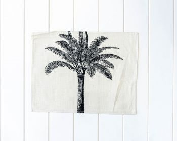 Placemat - Linen Look - Solo Palm Plantation - 42x33cm (MIN 4)