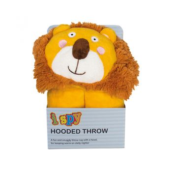 iSpy Hooded Throw Lion