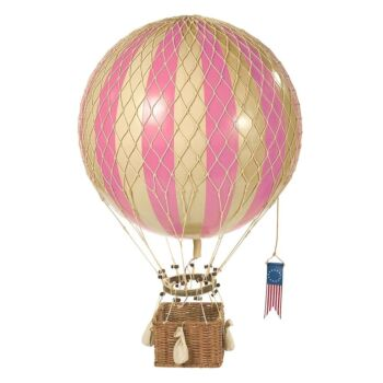 Authentic Models Royal Aero Hot Air Balloon Model - Pink