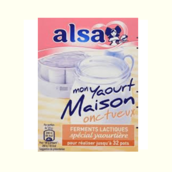 Alsa Starter Culture Yaourt Onctueux Maison 8g (up to 32 serves)