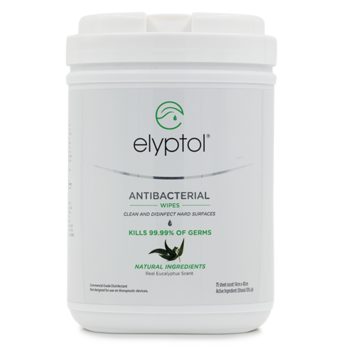 Antimicrobial Hard Surface Wipes - 75ct Canister (Large)