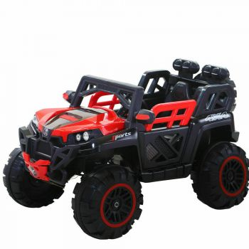 BoPeep 12V Built-in Songs with Remote Kids Electric Jeep Toy Car Off Road