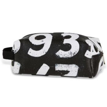 Scoreboard Numbers Black Toilet Bag