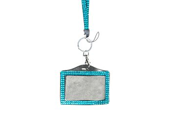 Mad Ally Bling Lanyard- Turquoise