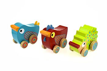PRICE FOR 3 ASSORTED WIND N WALK MUSIC BOX