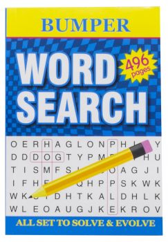 Book Word Search 496pg A5