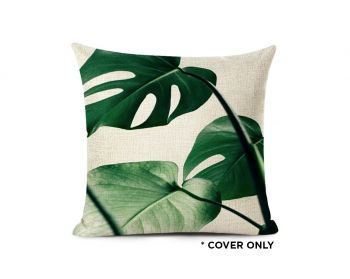 Indoor Cushion COVER - Sinharaja Jungle Palms - 45x45