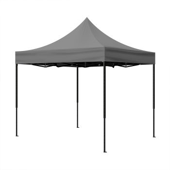 Mountview Pop Up Gazebo Outdoor Camping Tent 3x3M in Grey Colour
