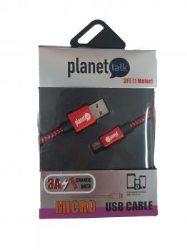 PT-CAB03 - PLANET TALK - MICRO USB CABLE