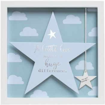Sentiment Star Frame - A Little Love