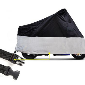 Waterproof Outdoor Motorcycle Scooter Dust-Free Cover in XL Size