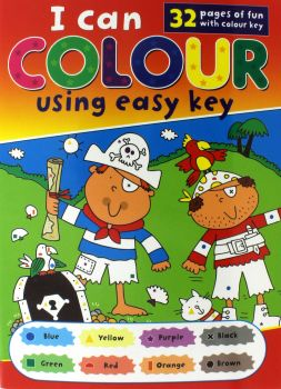 Book I Can Colour With Easy Key 295mm x 210mm 32pg